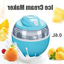 0.6L Mini Home Automatic Ice Cream Maker DIY Frozen Yogurt D