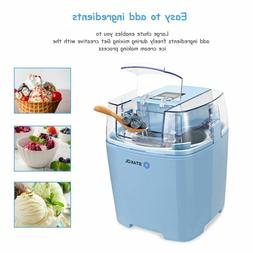 1.6Qt Electric Automatic Ice Cream Maker Mixer Machine Froze