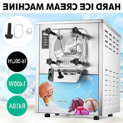 1 Flavor Commercial Frozen Hard Ice Cream Machine Maker 20L/