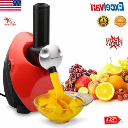 150W Ice Cream Maker Healthy Fruit Dessert Maker DIY Home Ma