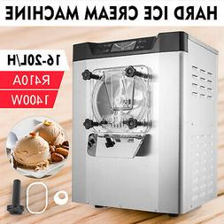 20L/h Commercial Hard Ice Cream Maker Machine Low Noise R410