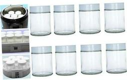 6 oz Glass Jars Fit Instant Pot, Euro Cuisine GY1920, and Go