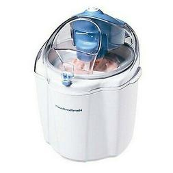 Hamilton Beach 68320 1-1/2-Quart Capacity Ice Cream Maker, W