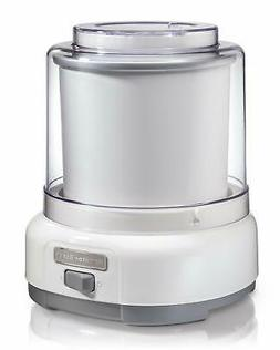 Hamilton Beach 68880 Ice Cream Maker, 1.5-Quart, White, 0400