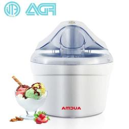 Aucma 1.5 Quart Automatic Ice Cream Maker Freezer Bowl Desse