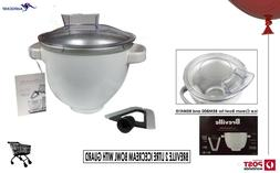 Breville BIA500WHT The Freeze & Mix Thermal Freezer Bowl Ice