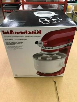 BRAND NEW KitchenAid Ice Cream Maker Attachment - KICA0WH