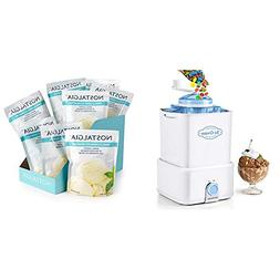 Nostalgia CICM2WB Electric Ice Cream Maker with Candy Crushe