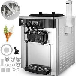 Commercial Countertop Frozen Soft Serve Ice Cream Maker Mach