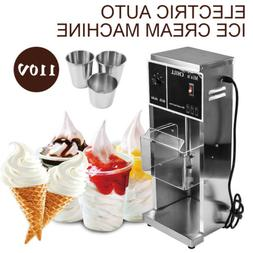 Commercial Electric Auto Ice Cream Machine Maker Blender Mix