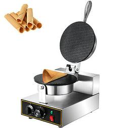 Commercial Electric Stainless Steel Ice Cream Egg Waffle Con