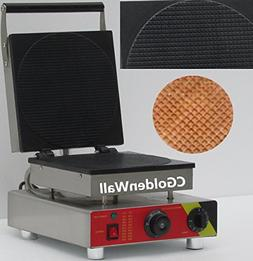 CGOLDENWALL Commercial Ice Cream Waffle Cone Machine Egg Rol
