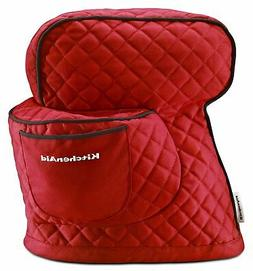 Cover Kitchen Aid Tilt Head Stand Mixer Red Quilted Fabric P