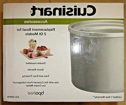 Cuisinart ICE-30RFB Replacement Freezer Bowl 2 Qt Model Ice