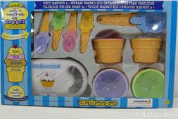 deluxe ice cream maker with set 4
