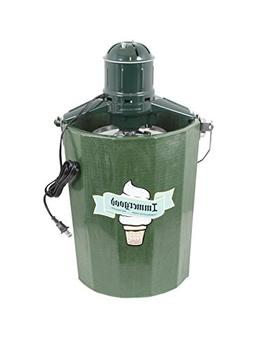 Electric - 6 qt. - Old Fashioned Ice Cream Maker w/ Motor
