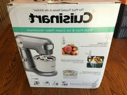 Cuisinart® Fresh Fruit & Ice Cream Maker Attachment