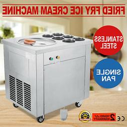 Fried Ice Cream Maker Roll Yogurt Fry Ice Cream Machine Comm