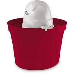 Rival Frozen Delight 2-Quart Ice Cream Maker RED