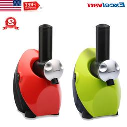 Electric Fruit Ice Cream Maker Freezer Home Made Frozen Yogu