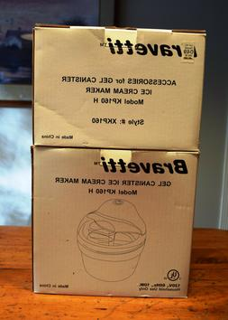 Bravetti Gel Canister Ice Cream Maker KP160H with Accessorie