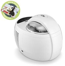 Gourmia GSI480 Automatic Ice Cream Maker with Built-In Cooli