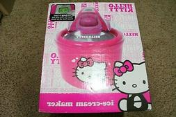 HELLO KITTY PINK ICE CREAM MAKER BRAND NEW SEALED