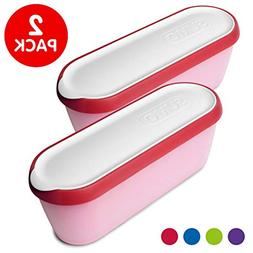 ice cream containers insulated