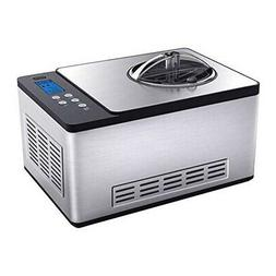 Whynter Ice Cream Machine ICM-220SSY Stainless Steel, Yogurt
