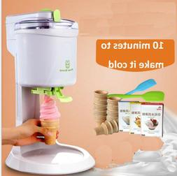 Ice Cream Machine Maker Old Fashioned Soft Service DIY Party