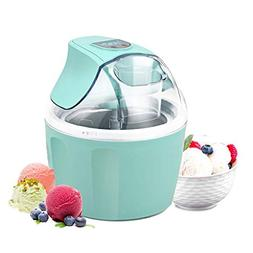 Costway Ice Cream Maker 1.5 Quart Automatic Macarons Color I