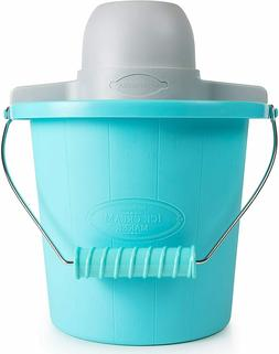 Ice Cream Maker 4 Qt. Motor Lock with Easy Carry Handle Elec