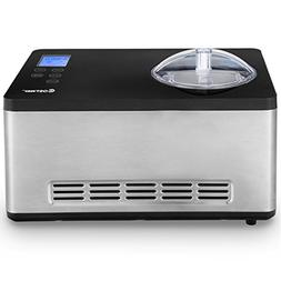 Costway Ice Cream Maker Automatic Stainless Steel Electric C