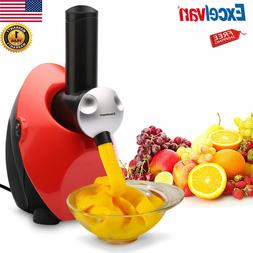 Ice Cream Maker Frozen Healthy Fruit Yogurt Mixer Smoothie M