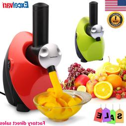 Ice Cream Maker Frozen Healthy Fruit Yogurt Dessert Mixer Ma