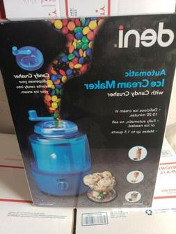 ICE CREAM MAKER Fully Automatic DENI Model No. 5201 Candy Cr
