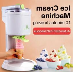 Ice Cream Maker Kids Home Soft Serve Ice Cream Machine Machi