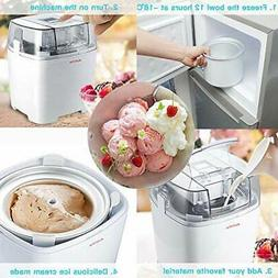 aucma 1 5 quart electric ice cream
