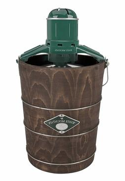 White Mountain Ice Cream Maker with Appalachian Series Woode