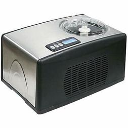 Whynter ICM-15LS Ice Cream Maker, Stainless Steel Compressor