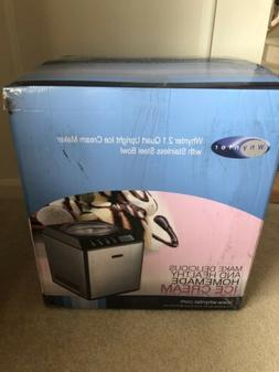 Whynter ICM-201SB 2.1 Quart Upright Ice Cream Maker with Sta