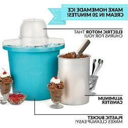Nostalgia ICMP4BL 4-Quart Electric Ice Cream Maker