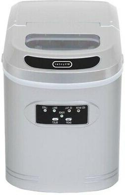 Whynter IMC-270MS Compact Ice Maker, 27-Pound, Metallic Silv