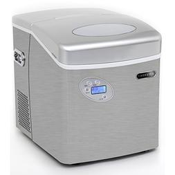 Whynter IMC-491DC Portable Ice Maker with Water Connection,