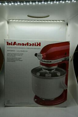 KitchenAid KAICA Ice Cream Maker 5/6/7/8 Qt Stand Mixer Atta