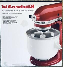 KitchenAid KICA Ice Cream frz yogurt sorbet Maker Stand Mixe