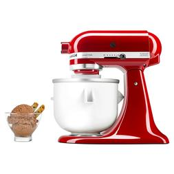 KitchenAid KICA Ice Cream Maker Stand Mixer Attachment KICAO