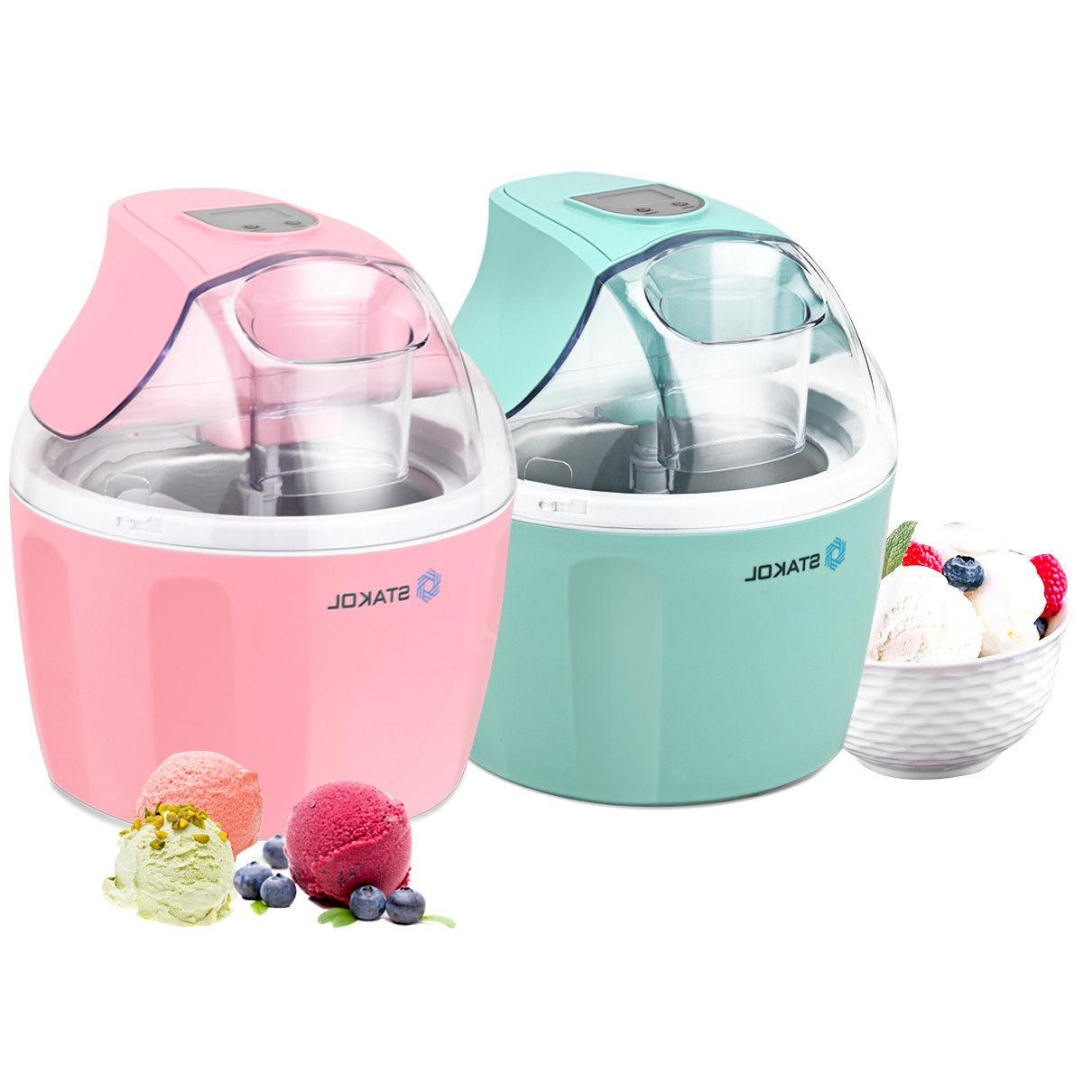 1.5 Automatic Ice Cream Maker Freezer