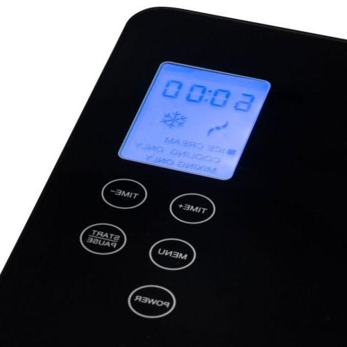 2.1 Qt. Ice Maker Built-In LCD Control Panel