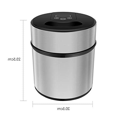 MVPower 2.1Quart Cream Maker & Recipe